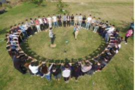 团队活动总结:每个个体相互团结,相互帮助,才能共同进步